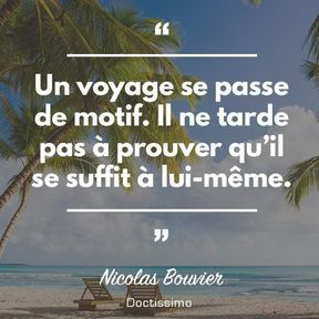 Citation de Nicolas Bouvier