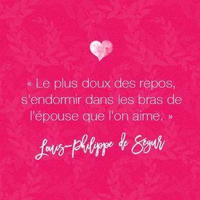 Citation amour de Louis-Philippe de Ségur