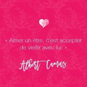 Citation amour d'Albert Camus