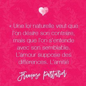 Citation amour de Françoise Parturier