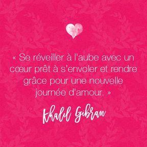 Citation amour de Khalil Gibran