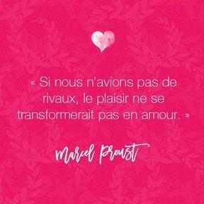 Citation amour de Marcel Proust