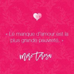 Citation Mère Teresa 30 Citations Sur L Amour
