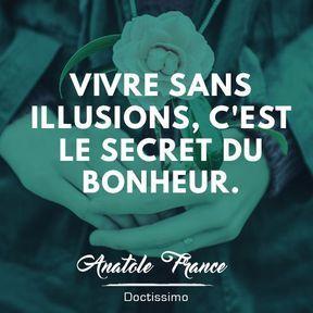 Citation bonheur d'Anatole France