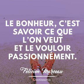 Citation bonheur de Félicien Marceau