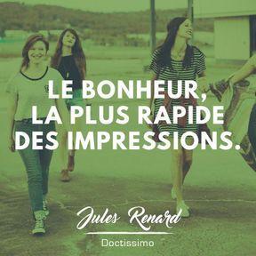 Citation bonheur de Jules Renard