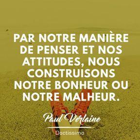 Citation bonheur de Paul Verlaine