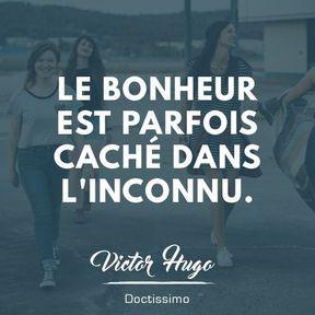 Citation bonheur de Victor Hugo