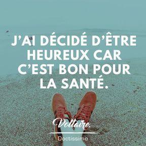 Citation bonheur de Voltaire