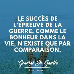 Citation bonheur du général De Gaulle