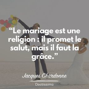 Citation mariage de Jacques Chardonne