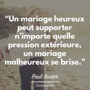 Citation mariage de Paul Auster