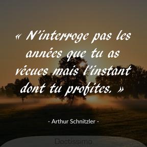 Citation d'Arthur Schnitzler