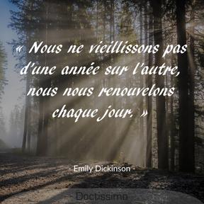 Citation d'Emily Dickinson