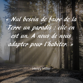Citation d'Henry Miller