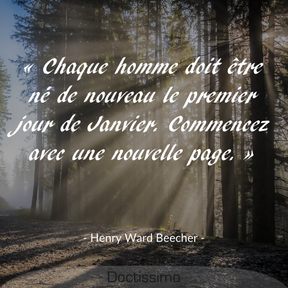 Citation d'Henry Ward Beecher
