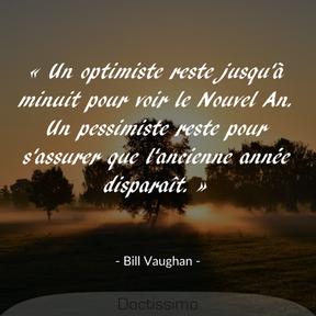 Citation de Bill Vaughan