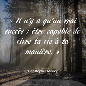 Citation de Christopher Morley