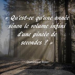 Citation de Dominique Rolin