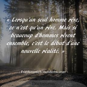 Citation de F. Hundertwasser