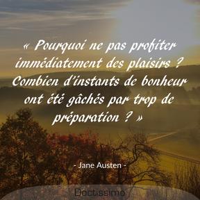 Citation de Jane Austen