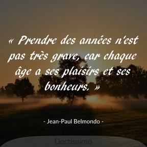 Citation de Jean-Paul Belmondo
