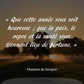 Citation de Madame de Sévigné