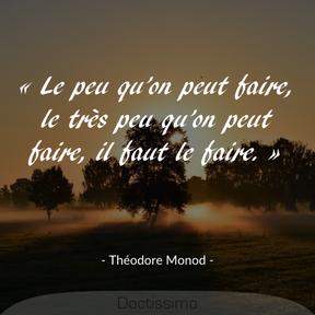 Citation de Théodore Monod
