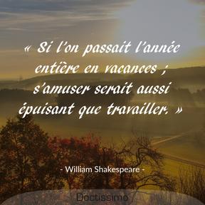 Citation de William Shakespeare