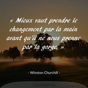 Citation de Winston Churchill