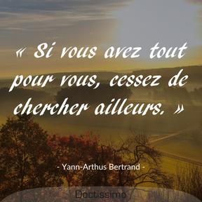 Citation de Yann-Arthus Bertrand