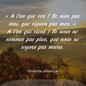 Proverbe provençal