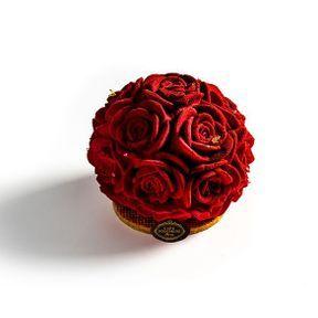 Un bouquet de roses à croquer !