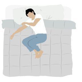 Dormir en position fœtale