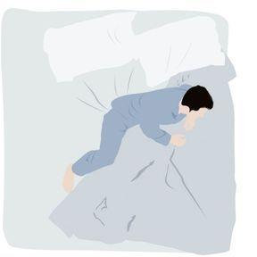 S'agripper en dormant
