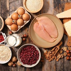 Manger des protéines au petit-déjeuner