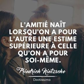 Citation sur l'amitié de Friedrich Nietzsche