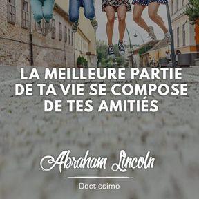Citation positive d'Abraham Lincoln