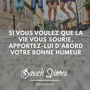 Citation positive de Baruch Spinoza