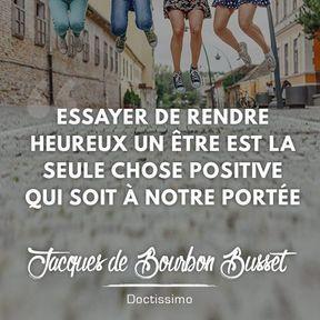 Citation positive de Jacques de Bourbon Busset
