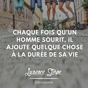 Citation positive de Laurence Sterne