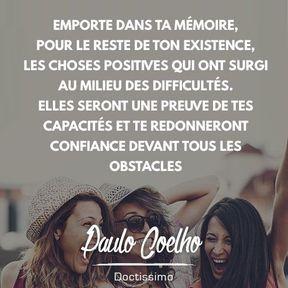 Citation positive de Paulo Coelho
