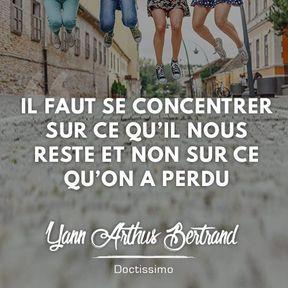 Citation positive de Yann Arthus Bertrand