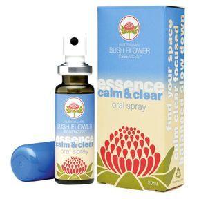 Elixirs de fleurs du bush australien, Calm & Clear