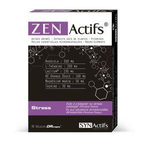 Gélules ZenActifs, laboratoires SynActifs