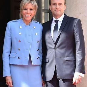 Emmanuel et Brigitte Macron (25 ans d'écart)