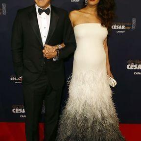 George et Amal Clooney (17 ans d'écart)