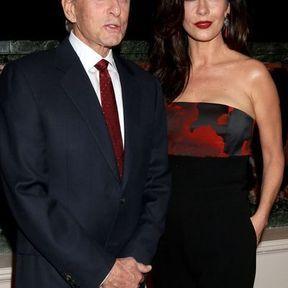 Michael Douglas et Catherine Zeta-Jones (25 ans d'écart)