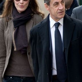 Nicolas Sarkozy et Carla Bruni-Sarkozy (13 ans d'écart)