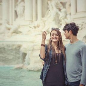 La fontaine romaine à vœux